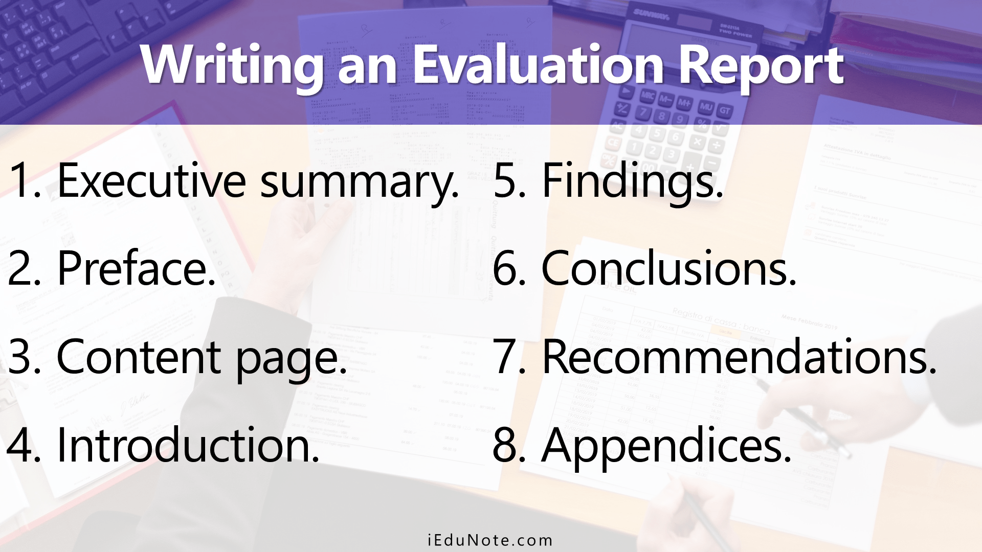 How to Write an Evaluation Report In Monitoring And Evaluation Report Template